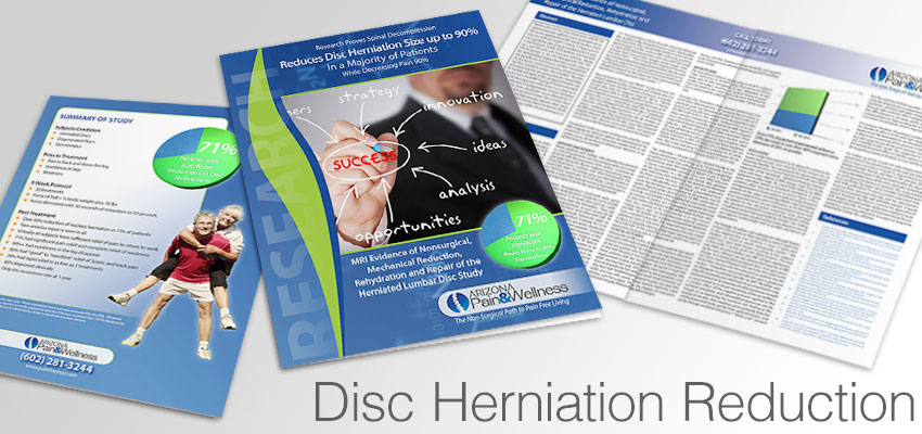 Research on spinal decompression and disc herniation reduction