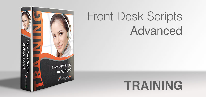 Front Desk Scripts - Advanced