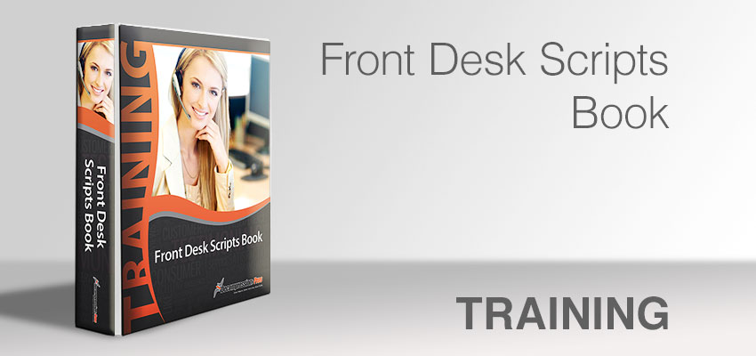 Front Desk Scripts Book
