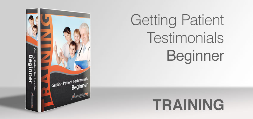 Getting Patient Testimonials - Beginner