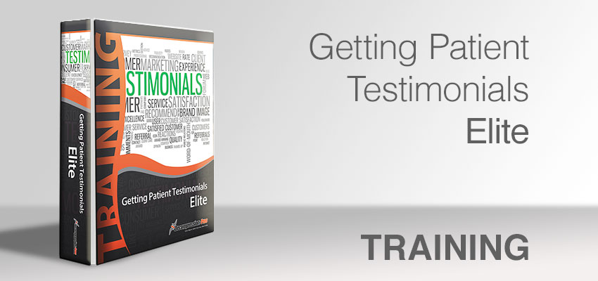 Getting Patient Testimonials - Elite