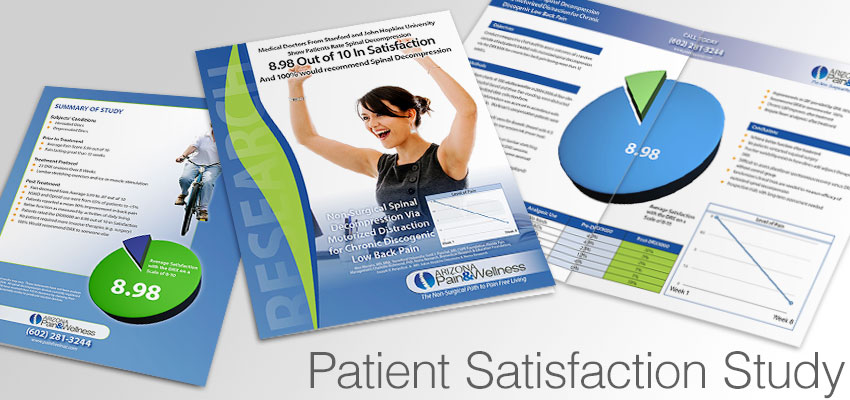 Patient Satisfaction with spinal decompression study